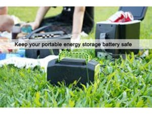 Introduction and test of portable energy storage battery