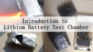 Introduction to Lithium Battery Test Chamber