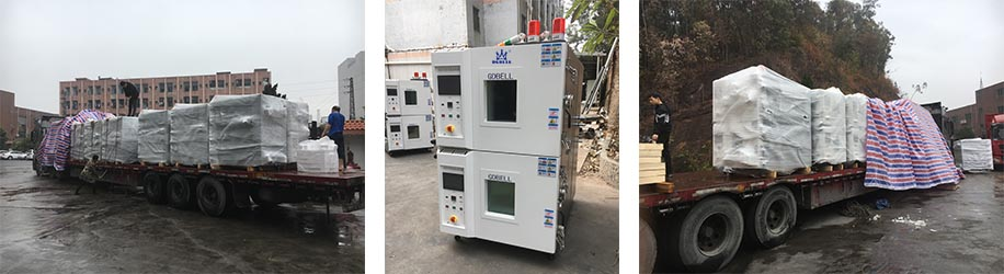 double-deck high low temperature chamber