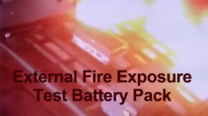 External Fire Exposure Test Machine for Battery Pack Safety